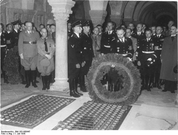 Himmler in Quedlinburg