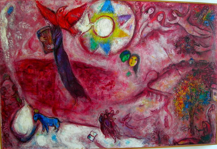 March Chagall, Lied der liederen V