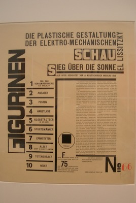 Lissitzky: Figurinen-Mappe